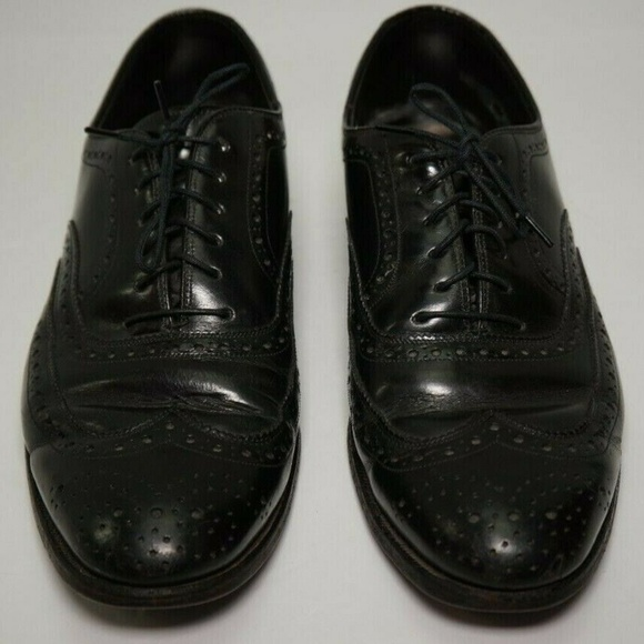 Johnston & Murphy Other - Johnson & Murphy Mens Leather Dress Shoes Sz 10